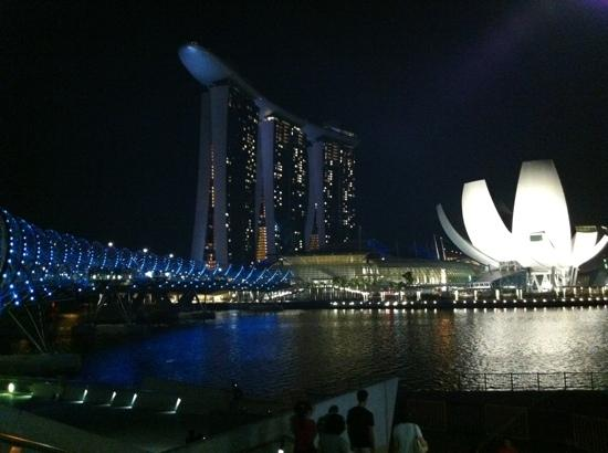 Marina Bay Sands: awesome view