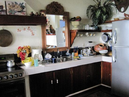 Villas Nicolas: rooom 7 kitchen