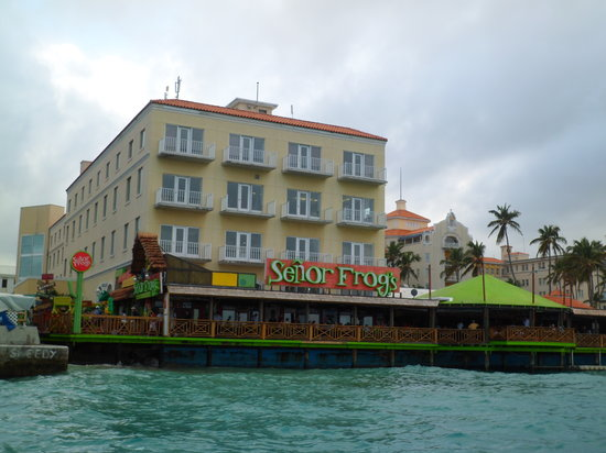 Señor Frog's: View from the Cruise Ship