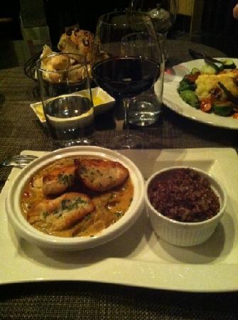Gaby Brasserie Francaise: Tajine de poisson et riz