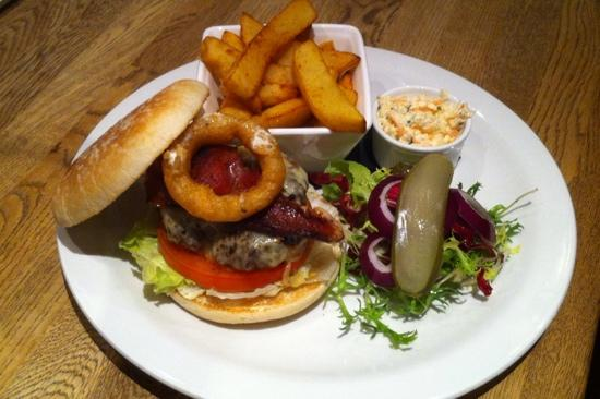 19 Streatham: the Nineteen's Mike Tyson Burger, because it knocked me out!