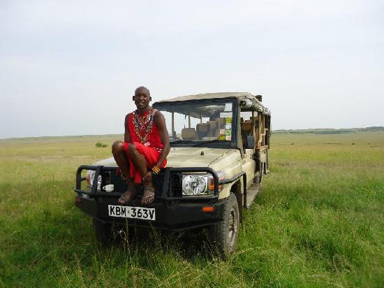 Mara Ngenche Safari Camp: Our driver Lucas