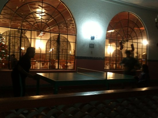 Tehuacan, Mexico: Ping pong