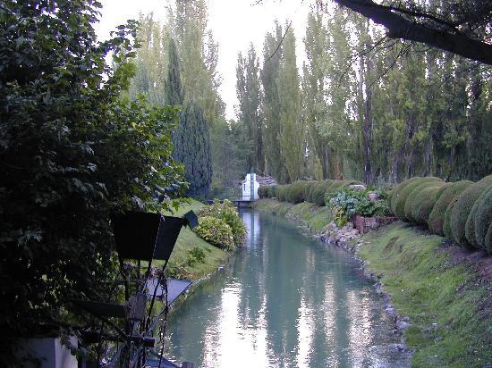 The Town of Gaiman : Parque de la casa de té