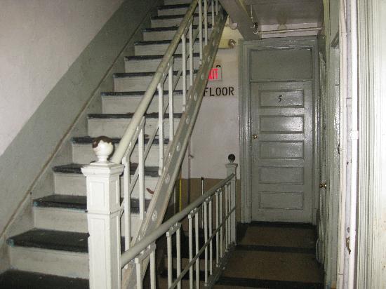 Elk Hotel : stairs in ELK