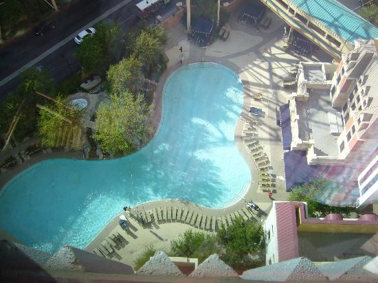View From Room Of Pool Picture Of New York New York Hotel And