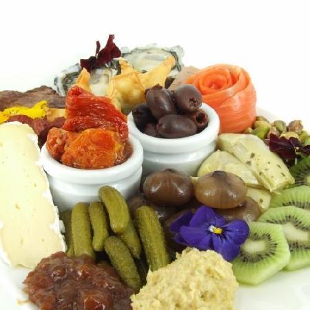 Gusto Restaurant: Antipasti platter - for 2