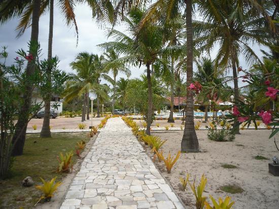 Hotel Marina Porto Abrolhos: Caminho da praia