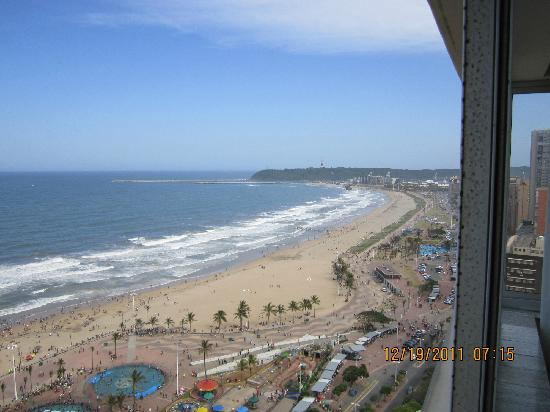 Garden Court Marine Parade: view from room 1