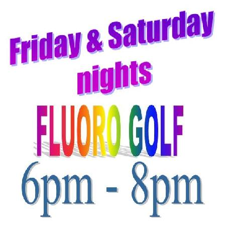Port Putt Putt: Fluoro Golf - Friday & Saturday nights