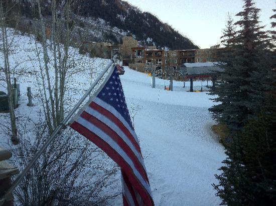 Aspen Alps Condominium Resort: View from the entrance of #209