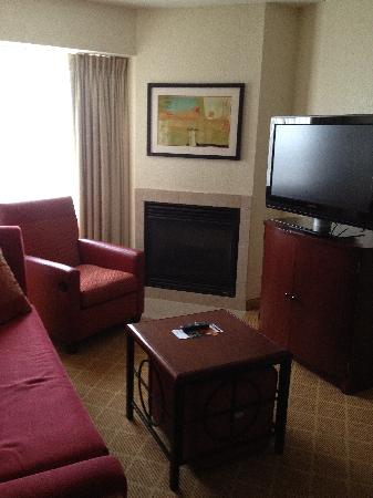 Residence Inn Boston Marlborough: Living room