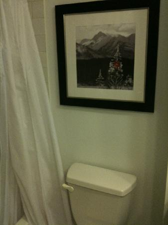 Four Points by Sheraton Calgary West: picture in the bathroom