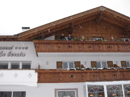 Garni Hotel la Bercia: Our balcony
