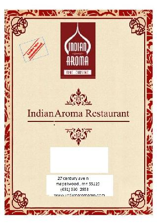Indian aroma picture of indian aroma maplewood for Aroma indian cuisine menu
