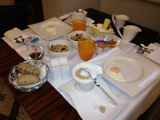 Residenze Suite Sistina: the awesome breakfast