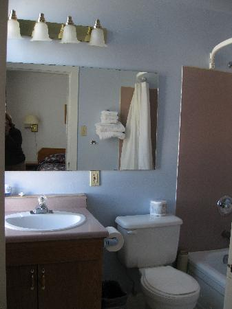James Bay Inn Hotel, Suites & Cottage: the bath