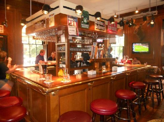 The Bar Upstairs In Cheers Picture Of Cheers Beacon Hill