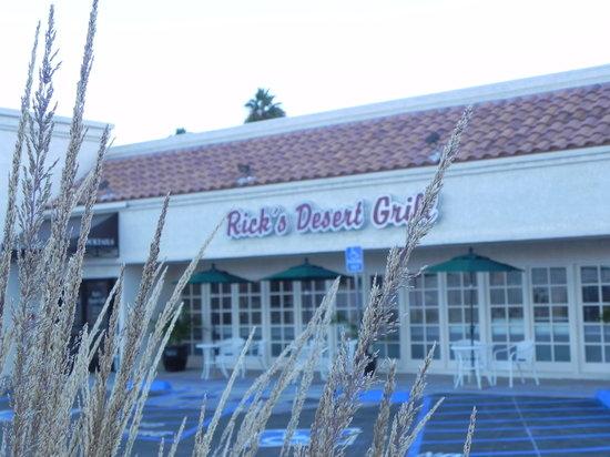 Rick's Desert Grill: Rick's Grill