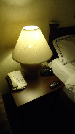 Radisson Hotel Lubbock Downtown: Lamp Shade needs to be replaced