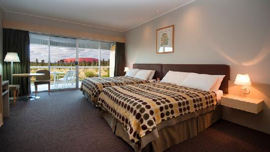 Desert Gardens Hotel, Ayers Rock Resort: Deluxe Rock View Room