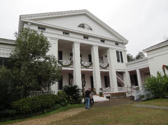 Madewood Plantation House: Back of house