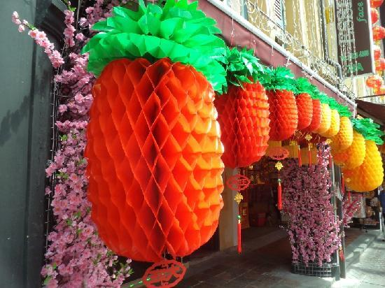 Chinatown: Colourful Chinese New Year Decorations