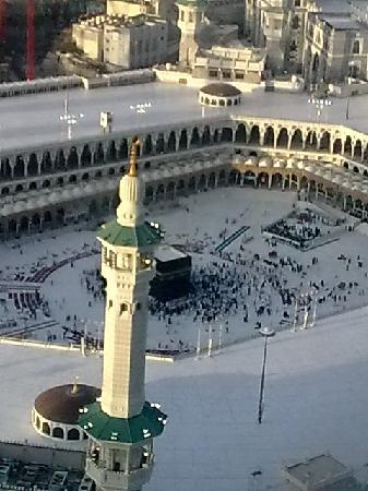 Al Marwa Rayhaan by Rotana-Makkah: Kaba view from our window