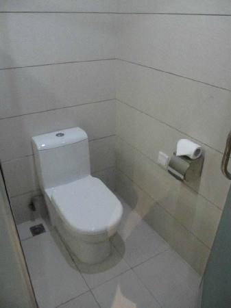 Shichang Huatian Holiday Hotel: toilet