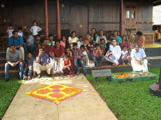 Vedic Village Resorts: Our flower decoration at Vedic