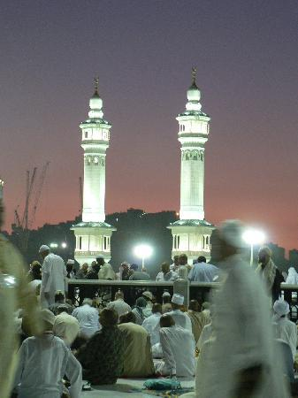 Mecca, Saudi-Arabien: Lilac sun sets took my breath away
