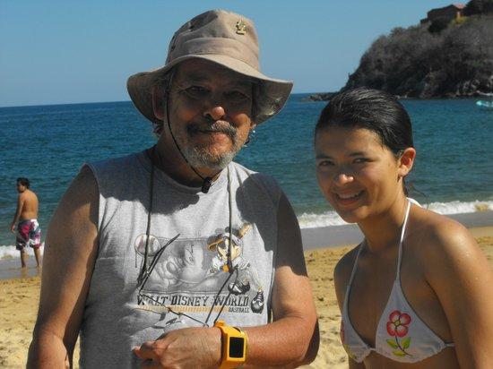 Las Brisas Huatulco: Con mi hija
