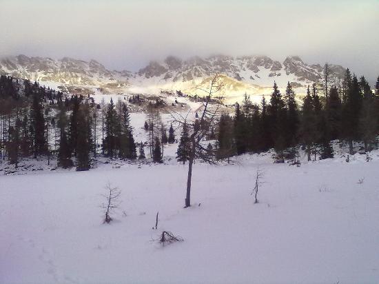 Hotel Laurino: Passo del S. Pellegrino - lago ghiacciato