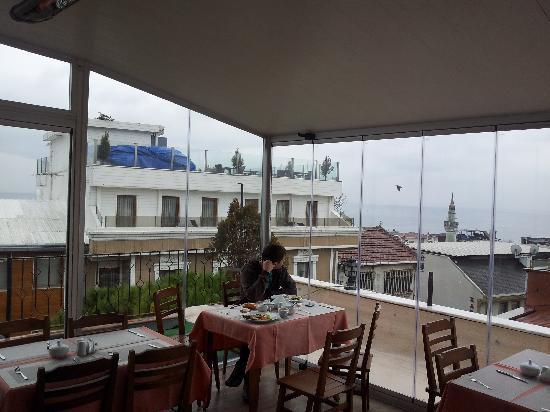 Apex Hotel: Вид с крыши