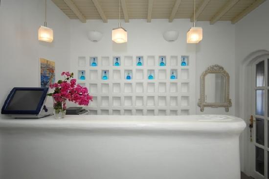 Corfos Hotel: Reception