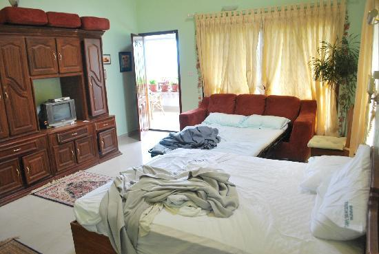 Munnar Carpe Diem Cottage : The cozy rooms
