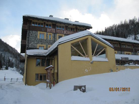 Hotel Foyer de Montagne: neve 2012