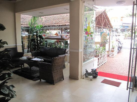 Villa Sol Areia: Reception area