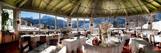 Cristallo Hotel Spa & Golf: Gazebo Restaurant