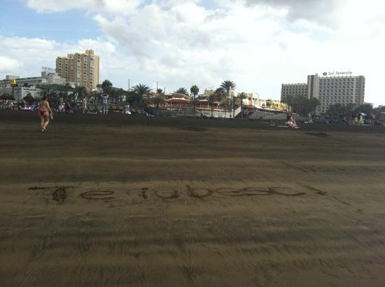 Sol Tenerife by Melia : beach