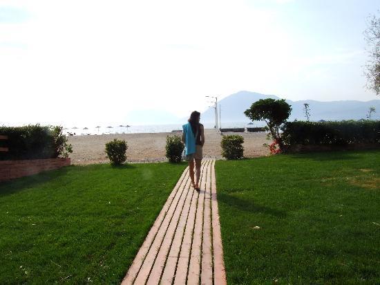 Porto Rio Hotel: Caminho para a praia/Path to the beach