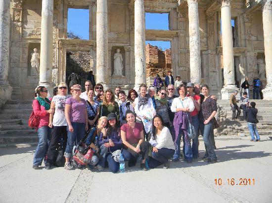 TTC Day Tours, Istanbul: Turkey Ephesus Group Photo 2
