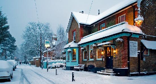 Snow at The Victoria