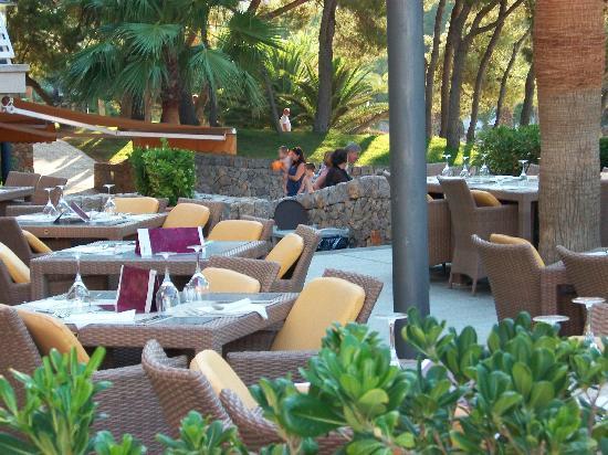 Cala Vinyes, Spain: Il ristorante