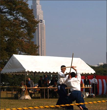 Meiji-Schrein (Meiji-jingū): Martial Arts Demonstration on Culture Day