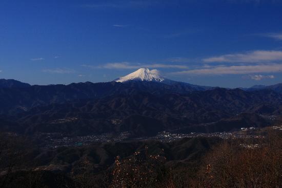 Kanto, Jepang: 陣馬山から見る富士山