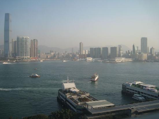 フォーシーズンズホテル香港, 部屋からの眺め