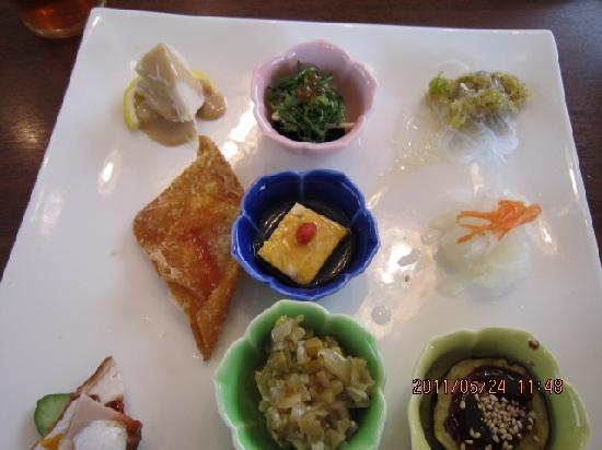 Kaiganrakuen: 前菜   大変美味しゅうございました。
