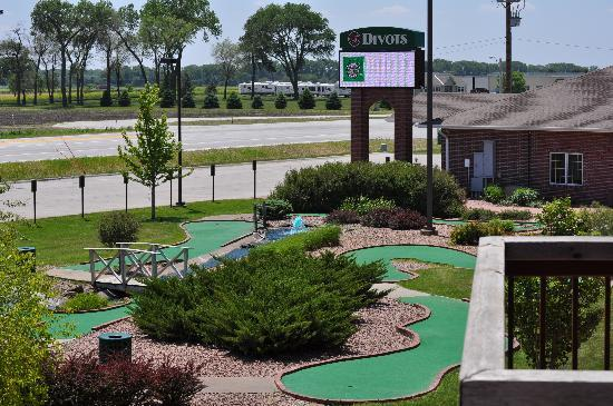 Norfolk, NE: View of mini golf from our balcony.