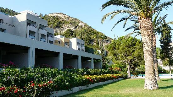 Sheraton Rhodes Resort: chambres au rez de chaussée